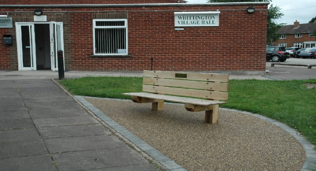 Paving Paths and Benches